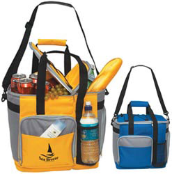 Custom imprinted Large Insulated Kooler Tote