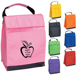 Custom imprinted Non-Woven Insulated Lunch Bag