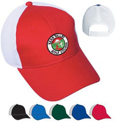 Custom imprinted Air Mesh Cap - Embroidered