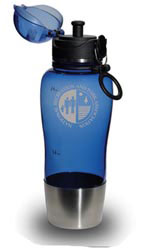 Custom imprinted 24 oz. Elite Polycarb Bottle