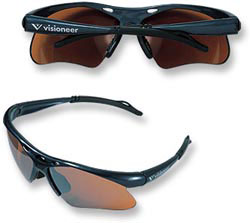 Custom imprinted Sport Wrap Sunglasses