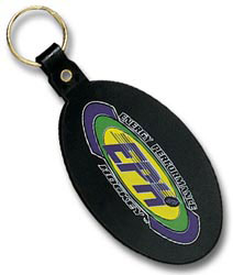 Custom imprinted Large Oval Key Tag