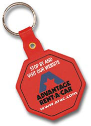 Custom imprinted Stop Sign Key Tag