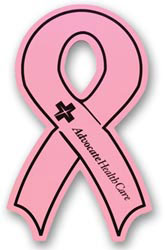 Custom imprinted Awareness Ribbon Flexible Magnet
