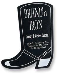 Custom imprinted Boot Flexible Magnet