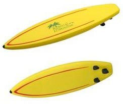 Custom imprinted Surfboard Stress Reliever
