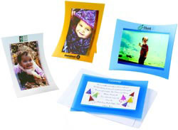 Custom imprinted Nouvelle Mailable Photo Frame