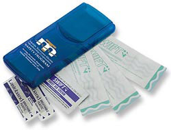 Custom imprinted Instant Care Bandages Kit
