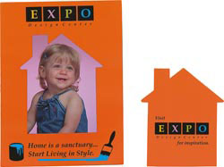 Custom imprinted House Photo Magnet