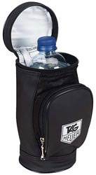 Custom imprinted Golf Bag Water Bottle Cooler