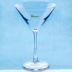 Custom imprinted Martini Glass