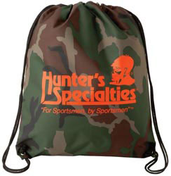 Custom imprinted Camo Drawstring Backsack