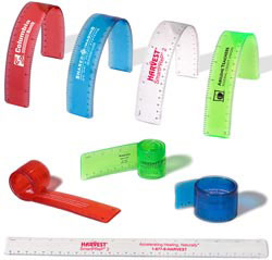 Custom imprinted Flexi-Ruler