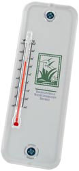 Custom imprinted Acrylic Thermometer