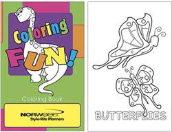 Custom imprinted Coloring Fun Coloring Book