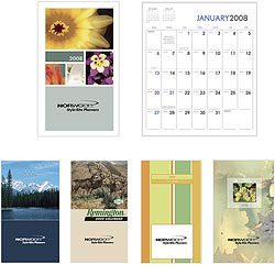 Custom imprinted Colorful Impressions Monthly Pocket Planner