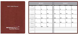 Custom imprinted Academic Monthly Planner