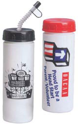 Custom imprinted 16 oz. Promotional Drink Bottle
