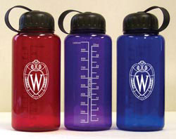 Custom imprinted 32 oz. Polycarbonate Drink Bottle