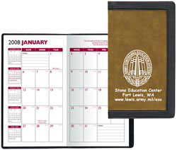 Custom imprinted Two-Tone Academic Planner