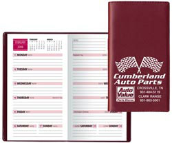 Custom imprinted Bi-Weekly Pocket Planner