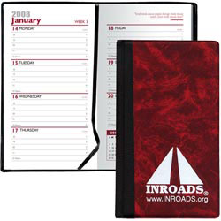 Hard Cover Weekly Planner