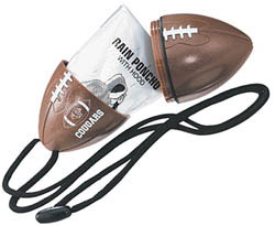Custom imprinted Football With Neck Rope