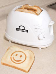 Custom imprinted Logo Toaster-Smile Face