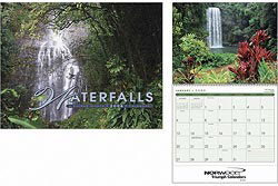 Custom imprinted Waterfalls Calendar