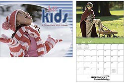 Custom imprinted Just Kids 13 Month Calendar