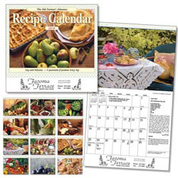 Custom imprinted The Old Farmer's Almanac Recipe Calendar