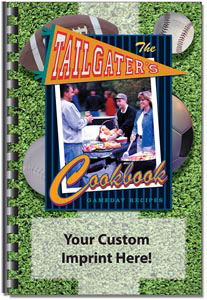 Custom imprinted Tailgaters Gameday Recipes