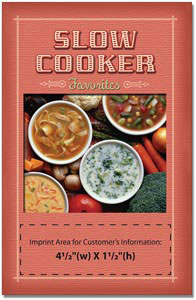 Custom imprinted Slow Cooker Favorites Cookbook