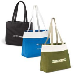 Custom imprinted Recycled Expo Tote