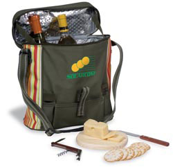 Custom imprinted Daypack Picnic Cooler