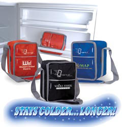 Custom imprinted Fridge-To-Go 12 Can Cooler