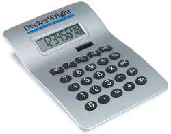 Custom imprinted Jumbo Desk Calculator