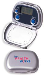 Custom imprinted Pocket Pedometer