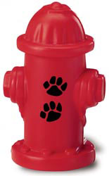 Custom imprinted Fire Hydrant Stress Reliever
