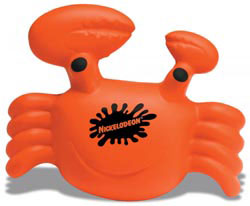Custom imprinted Crab Stress Reliever