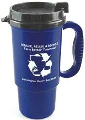 Custom imprinted Recycled 16 oz. Auto Mug