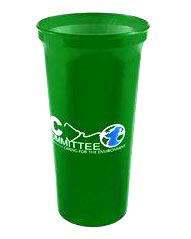 Custom imprinted Recycled 32 oz. Stadium Cup