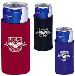 Custom imprinted Energy Drink Koozie Can Kooler