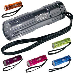 Custom imprinted Pocket Aluminum LED Flashlight