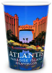 Custom imprinted 4 Color Process Cup - 22 Ounce