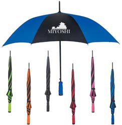 Custom imprinted 46 Inch Arc Umbrella