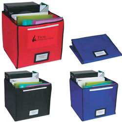Custom imprinted Non-Woven Storage Bin