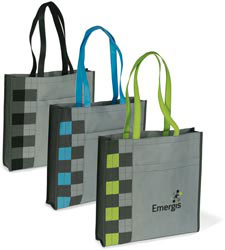 Custom imprinted Expressions Convention Tote Bag