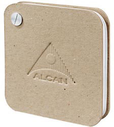 Custom imprinted CLOSEOUT Recycled Cardboard Pivot Pad