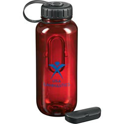 Custom imprinted Pill Case Sport Bottle